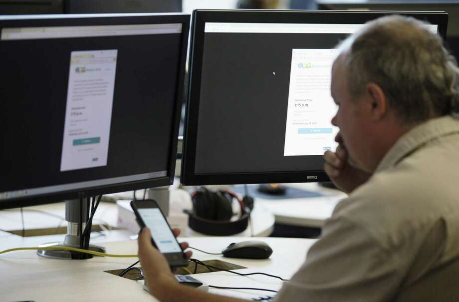 Variable Annuity Life Insurance Company, headquartered in Houston, has launched SponsorFit, an online tool designed to help plan sponsors manage plans. Photo: Christinne Muschi / Bloomberg / © 2018 Bloomberg Finance LP