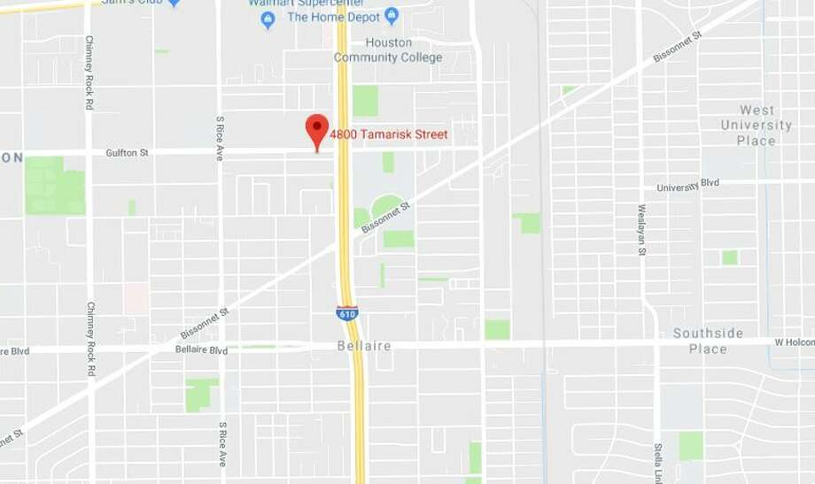An armed suspect is reportedly in the 4800 block of Tamarisk, on Friday, Aug. 10, 2018. Police SWAT teams are responding. Photo: Google Maps
