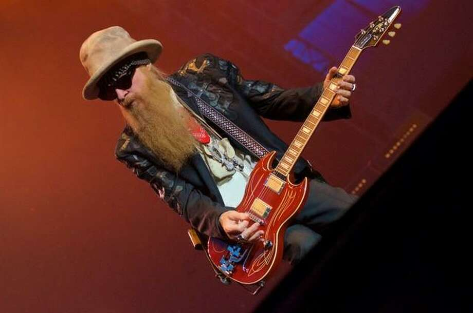 "ZZ Top guitarist Billy F. Gibbons is stopping in San Antonio this fall during his ""The Big Bad Blues"" North American tour. Photo: Courtesy Photo"