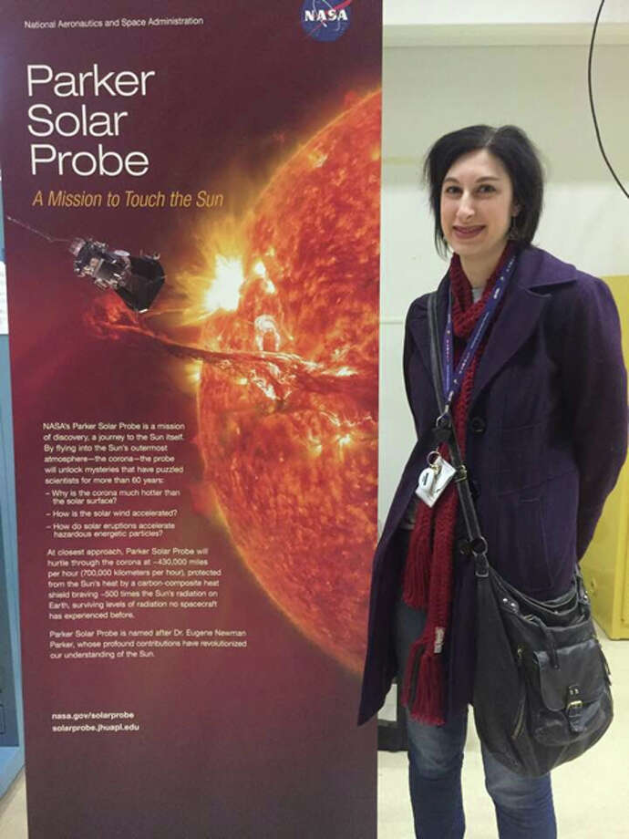 Midland native Brooke Teresa Buchholz Tropf, 36, is a spacecraft software engineer at the Johns Hopkins Applied Phsyics Laboratory in Maryland, and is the Deputy Autonomy Lead for the Parker Solar Probe. Her job is to make sure everything is working properly when the Parker Solar Probe launches early Saturday morning. Photo: Photo Provided