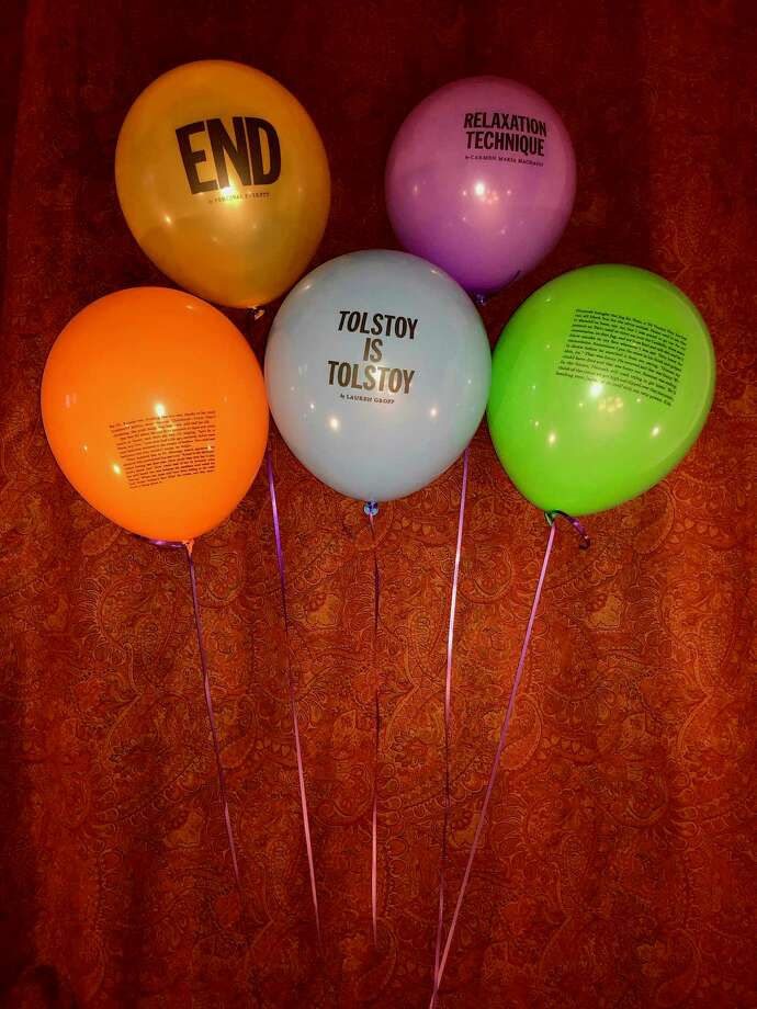 Balloon stories from McSweeney's issue No. 53 ( Photo: Ron Charles/Washington Post) / The Washington Post