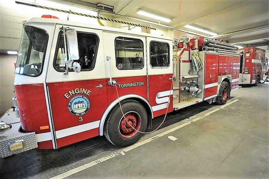 A Torrington Fire Engine Photo: Hearst Connecticut Media File Photo /