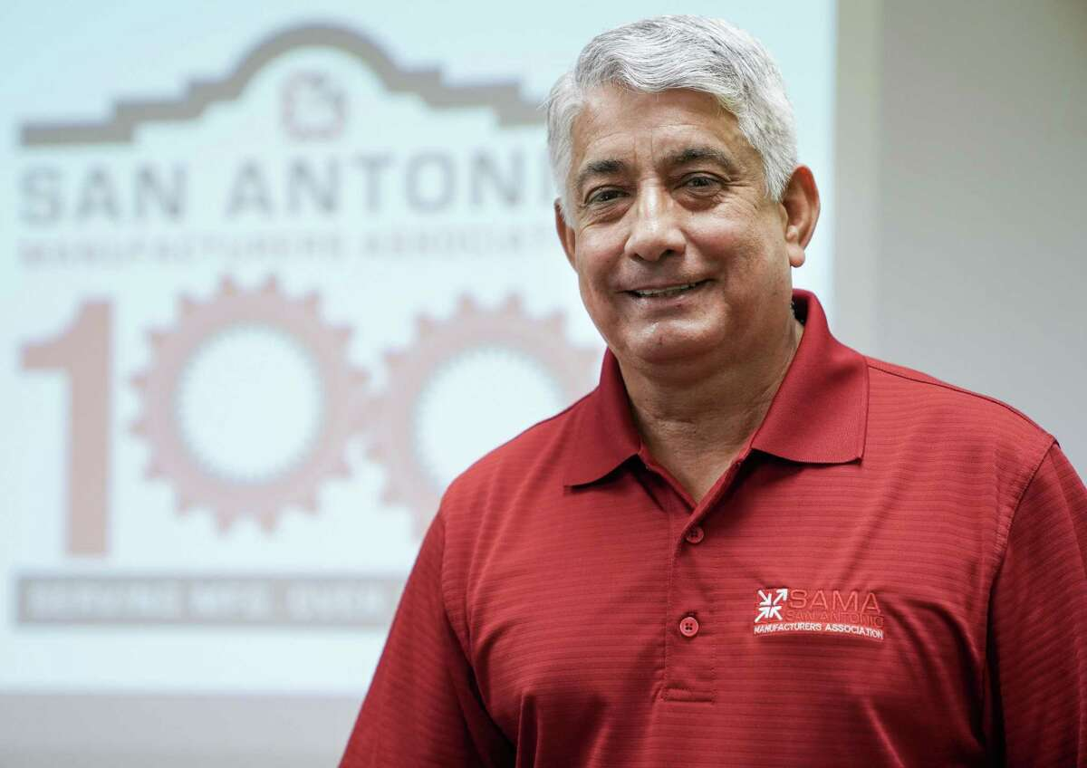 Rey Chavez, president and CEO of the San Antonio Manufacturers Association, is one of the leaders guiding the city's manufacturing sector through these turbulent times.