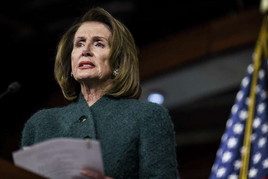 House Minority Leader Nancy Pelosi, a Democrat from California. Photo: Bloomberg Photo By Zach Gibson / © 2018 Bloomberg Finance LP