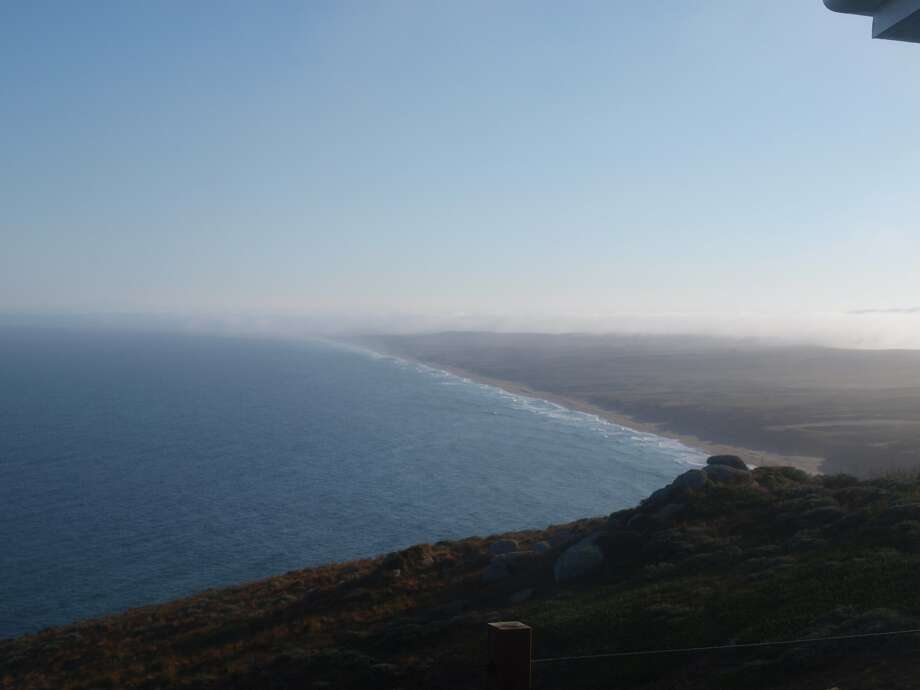 Beautiful morning at Point Reyes National Park Friday, Aug. 10, 2018. Photo: National Weather Service Bay Area