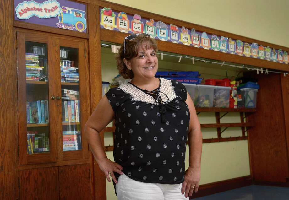 Norwalk Public Schools Teacher of the Year, Rosemary Holomakoff, in her classroom Wednesday, August 8, 2018, at Tracey Elementary School in Norwalk, Conn. Holomakoff is the special education teacher for Tracey School. Photo: Erik Trautmann / Hearst Connecticut Media / Norwalk Hour