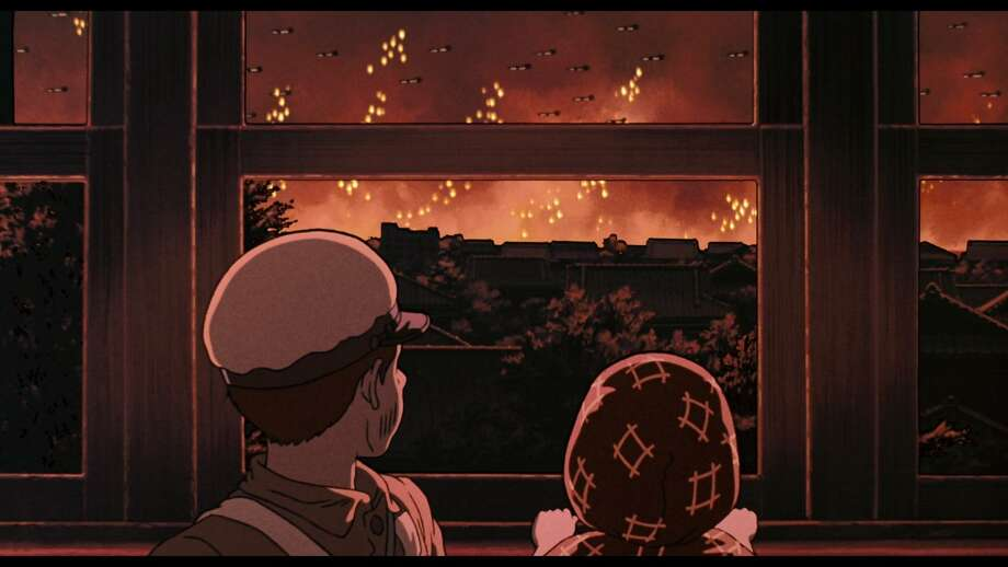 "Thirty years after its release, ""Grave of the Fireflies"" can be seen in 28 Bay Area theaters. Photo: Studio Ghibli 1988"