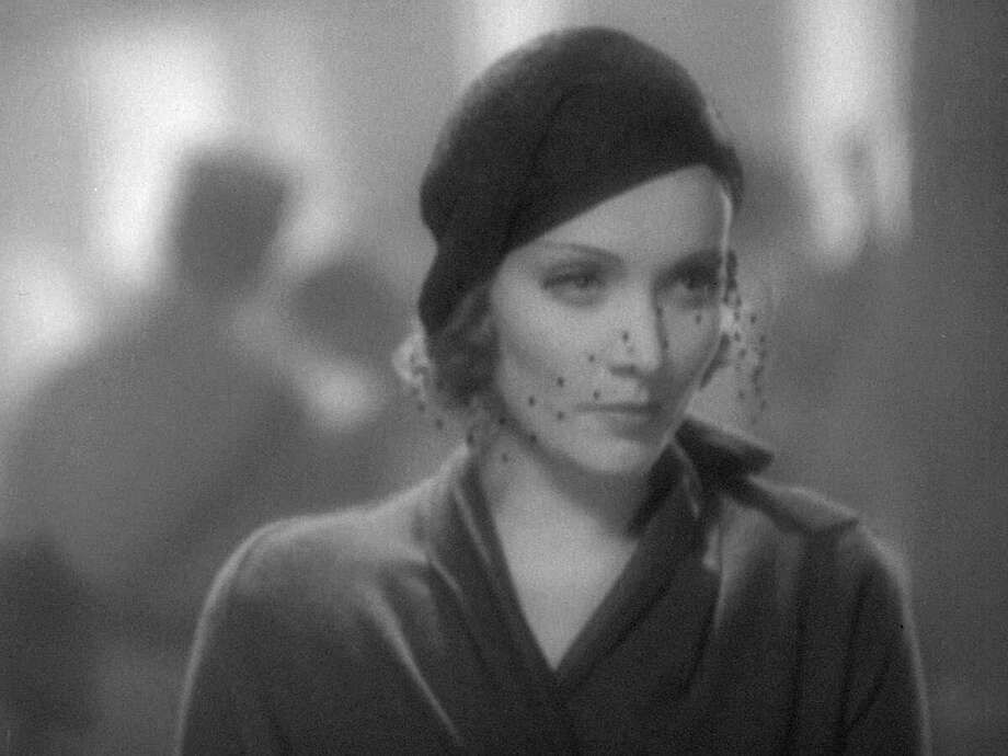 "Marlene Dietrich in ""Morocco,"" a cynical woman of mystery who meets her match in Gary Cooper. Photo: The Criterion Collection"