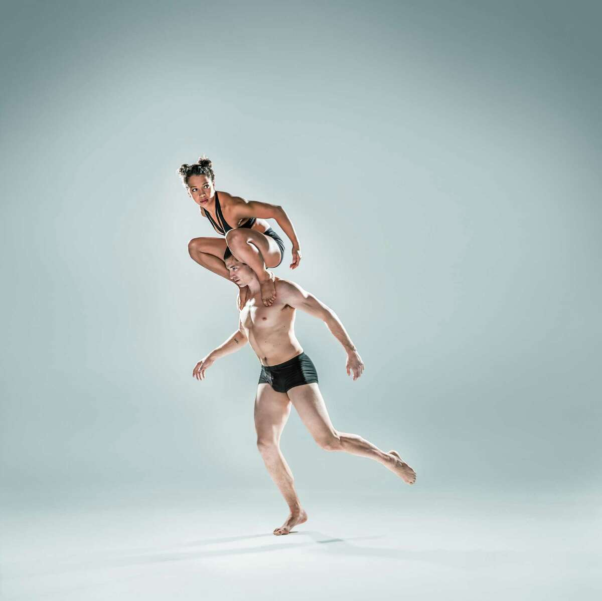 The Quick Center at Fairfield University is serving as the home base for the modern dance troupe Pilobolus through the end of August.