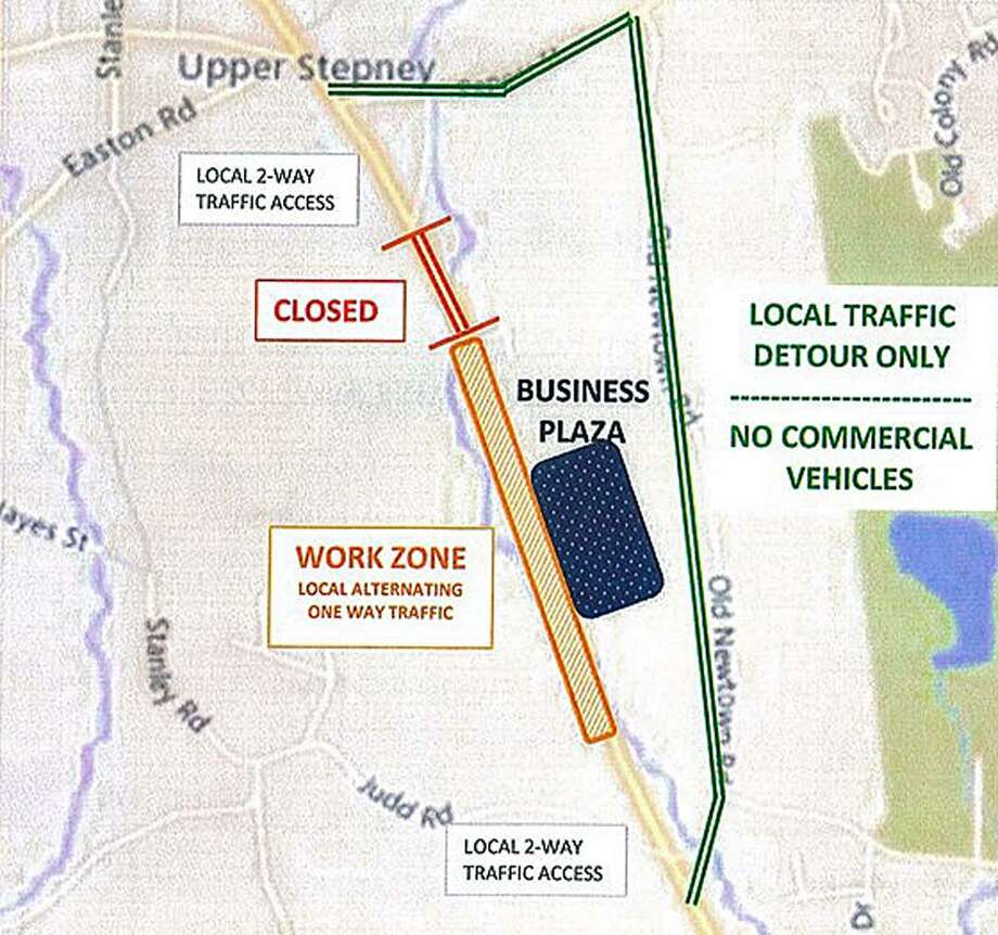 A planned closure of Route 25 in Monroe, Conn., has been postponed until Aug. 17, 2018. Photo: Contributed Photo / Monroe Police Department / Connecticut Post Contributed