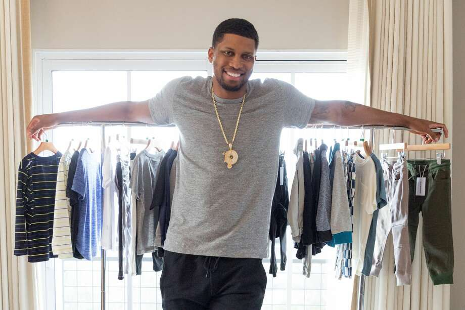 For Spur Rudy Gay, the off season agenda includes launching a clothing line for kids. The forward's fashion-forward athleisure line launched Thursday on Zappos.com, in collaboration with Superism. Photo: Courtesy, Zappos