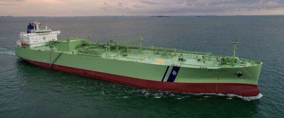 Stamford-based Dorian LPG specializes in shipping liquefied petroleum gas. Photo: Contributed Photo