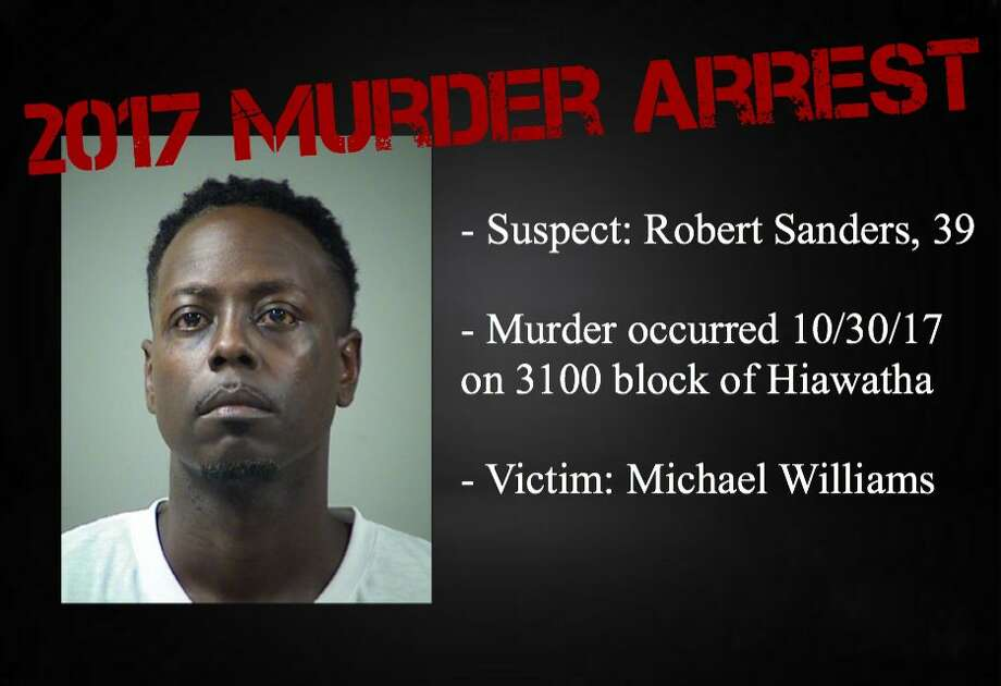 Robert Sanders, 39, is charged with murder. Photo: San Antonio Police Department