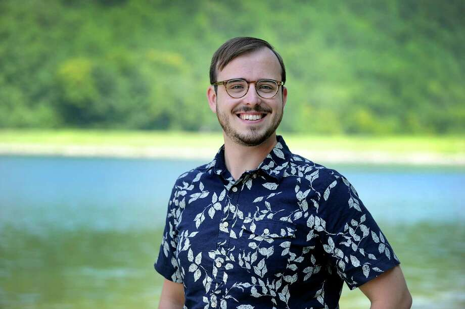 Neil Stalter is the new director of ecology and environmental education for Candlewood Lake Authority, a new position with the organization. Photo taken at Lynn Deming Park in New Milford, Friday, August 10, 2018. Photo: Carol Kaliff, Hearst Connecticut Media / The News-Times