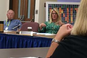Shelton School board holds a round table discussion on bullying. August 8, 2018