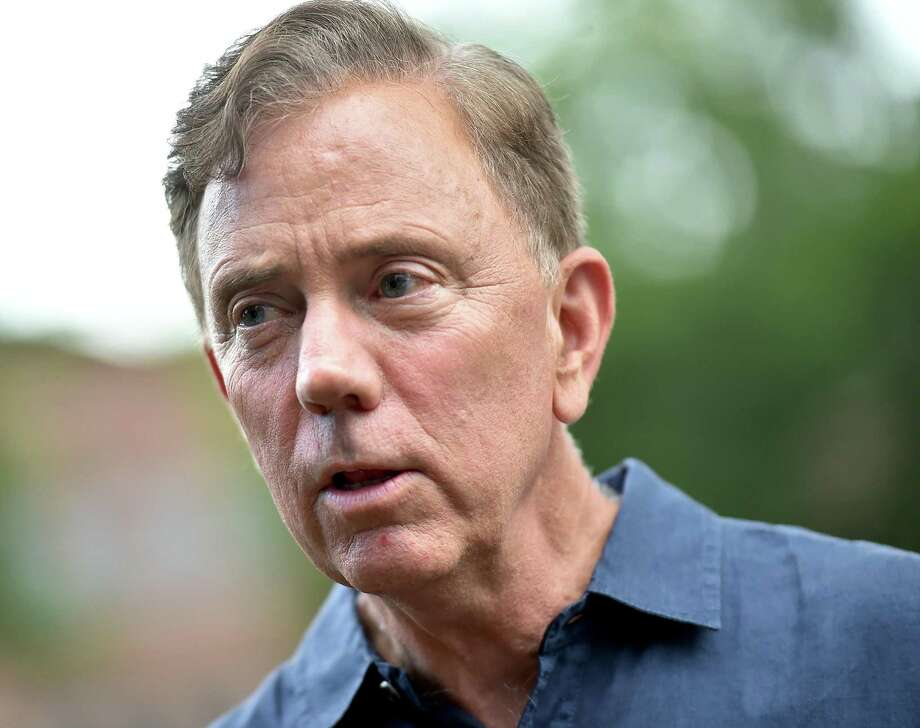 Democratic gubernatorial candidate Ned Lamont at the Goffe Street Park Wednesday, August 8, 2018, where organizers from New Haven Rising, Unite Here! and the anti-violence group, Ice the Beef focused on youth safety, good jobs, affordable housing. Photo: Catherine Avalone / Hearst Connecticut Media / New Haven Register