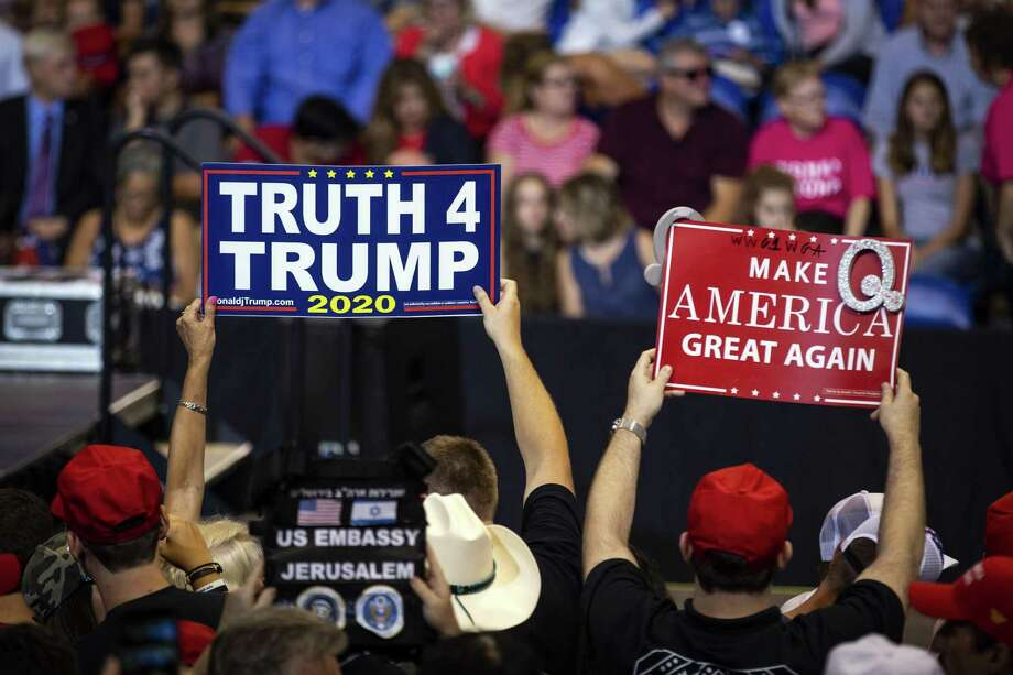 President Donald Trump has devoted much of his time at his rallies disparaging the news media, as he did Aug. 2 in Wilkes-Barre, Pa. This has repercussions beyond national politics. Photo: AL DRAGO /NYT / NYTNS