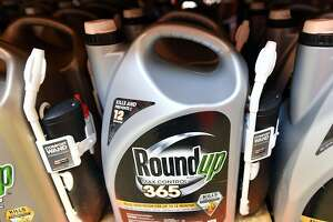 (FILES) In this file photo taken on July 09, 2018, Roundup products are seen for sale at a store in San Rafael, California. - On August 10, 2018 in San Francisco, the jury in the Roundup trial reached a verdict, hitting Monsanto with $285 mn in damages. (Photo by JOSH EDELSON / AFP)JOSH EDELSON/AFP/Getty Images