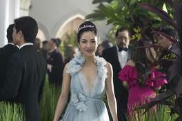 """Constance Wu stars in """"Crazy Rich Asians,"""" the first major Hollywood release with an all-Asian leading cast since """"The Joy Luck Club,"""" which came out 25 years ago."""