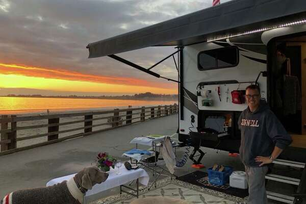 #RVLife: Trading in suburban life for a travel trailer with 6 people including 2 teenagers, 2 younger kids, and a man-sized dog, Doug Brauner aka The Car Czar takes to the road.