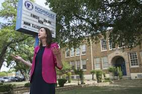 SAISD spokesperson Leslie Price explains the events which led to the decision to close Cleto Rodriguez Elementary School. The school has failed state accountability ratings five years in a row and will close next school year.