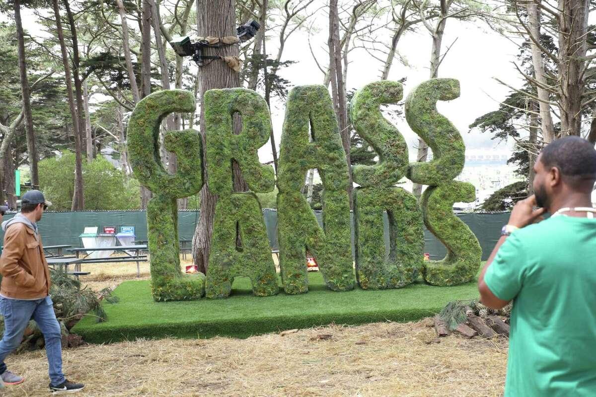 Grass Lands in Outside Lands.