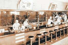 The soda fountain was part of Walgreens stores for decades, with the company's claim to fame being the 1922 invention of the malted milkshake by a soda jerk.