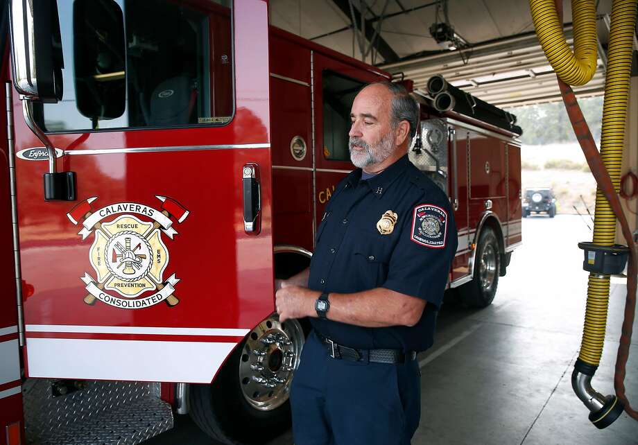 as california burns, volunteer firefighters become