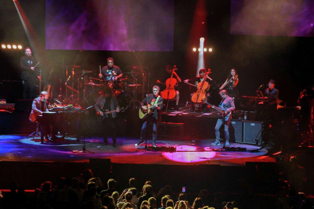 Electric Light Orchestra performing at Toyota Center.