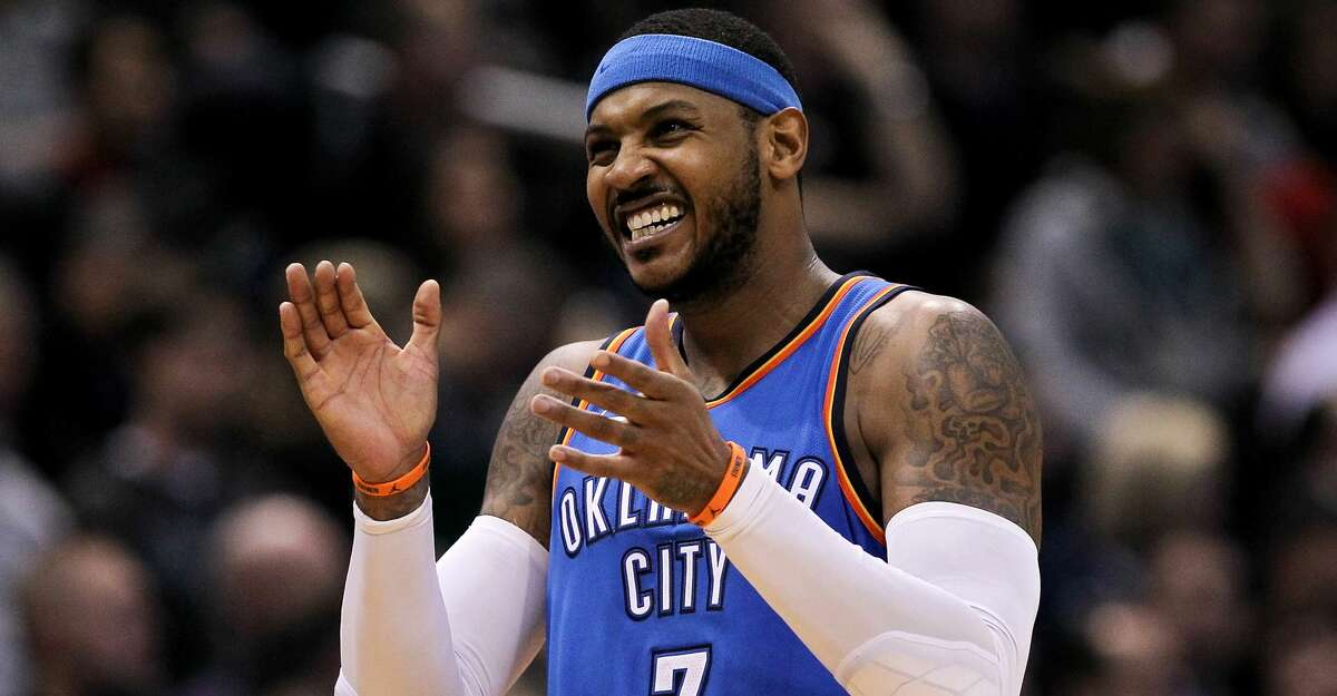 PHOTOS: What you should know about Carmelo Anthony After one season in Oklahoma City, Carmelo Anthony will sign with the Rockets on Monday. Browse through the photos above to learn more about Carmelo Anthony ...