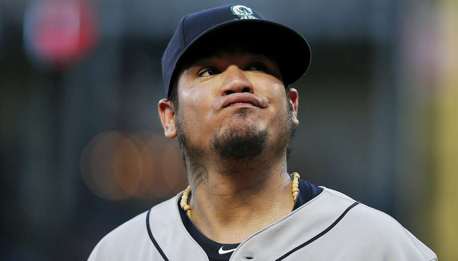 Felix Hernandez has been the face of the Mariners' franchise for nearly 14 seasons. Photo: Brandon Wade / Associated Press