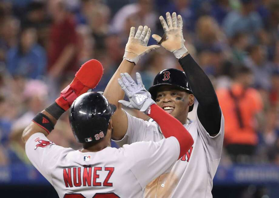 The Red Sox have won in a number of different ways this season and have a chance to challenge the all-time record of 116 regular-season wins. Photo: Tom Szczerbowski / Getty Images / 2018 Getty Images