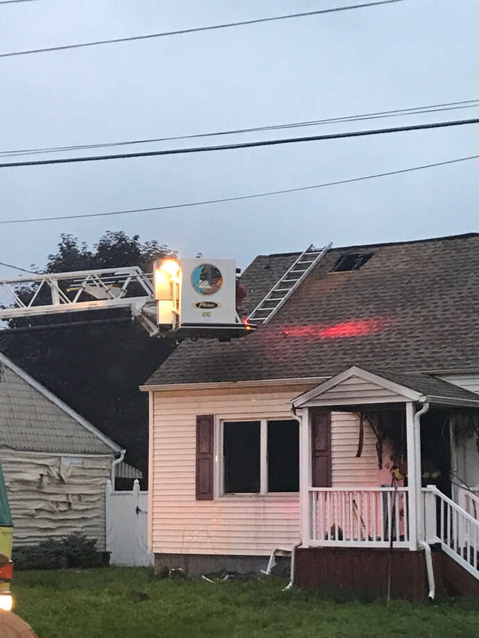 4 Elmwood St., Colonie was damaged by fire Aug. 11, 2018 Photo: Leigh Hornbeck