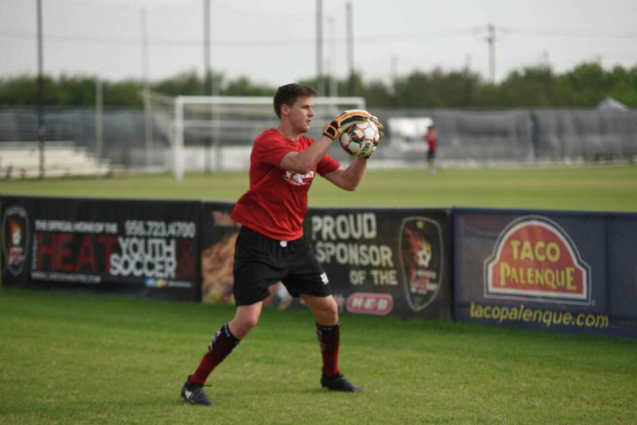 Laredo Heat goalkeeper Brandon Barnes signed a professional contract with the Richmond Kickers of the United Soccer League. Photo: Christian Alejandro Ocampo /Laredo Morning Times File