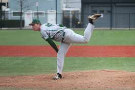 Siena pitcher Tommy Miller, a Maple Hill graduate. (Courtesy of Siena College)