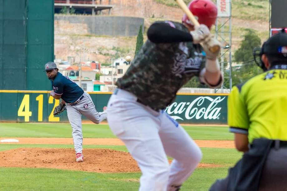 Cesilio Pimentel allowed four runs off 10 hits in six innings Saturday improving to 2-1 as the Tecolotes won 12-7. Photo: Courtesy Of The Tecolotes Dos Laredos