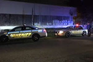 A man was shot to death at a northern Harris County music studio, according to authorities.