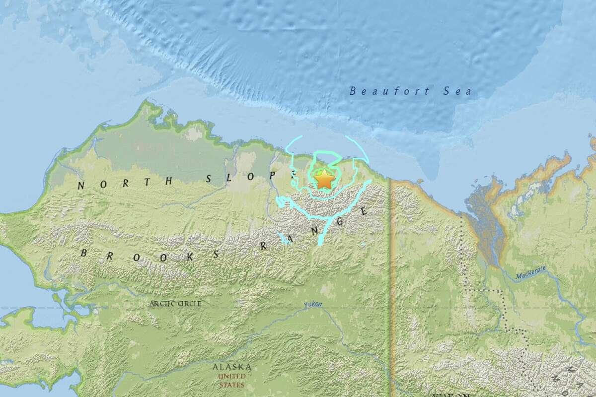 Alaskau0027s North Slope hit by strongest quake
