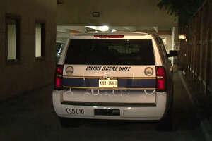 A woman was shot in the parking garage behind the Galleria Garden Hotel.