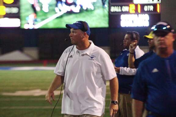 Friendswood football coach Robert Koopmann was able to watch his 2018 team in full pads for the first time on Saturday.
