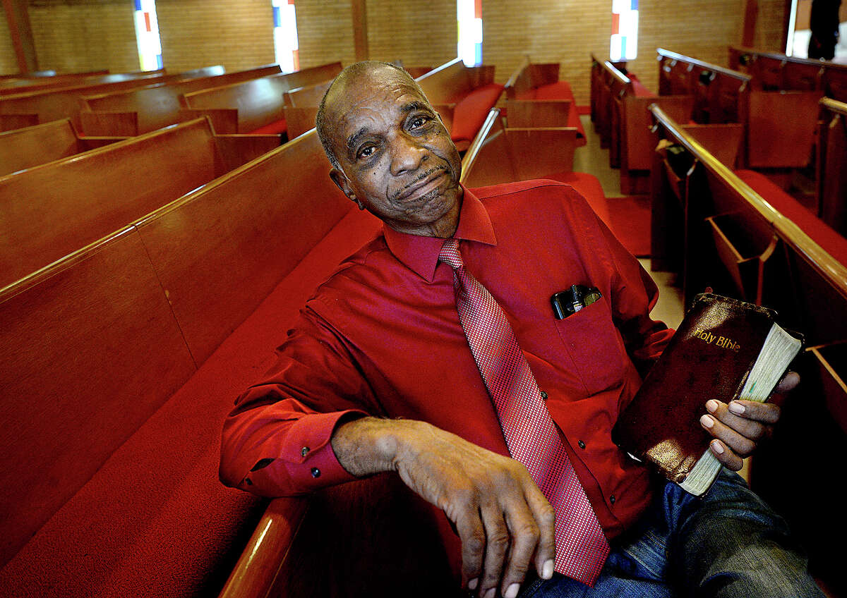 Walter McCloney is one of the oldest members of St. Paul African Methodist Episcopal Church in Beaumont. Generations of his family have been part of the church history since coming here at the turn of the century. The congregation will celebrate the church's 150th anniversary this Sunday. St. Paul's started in 1868 and met at the home of Rev. Woodson Pipkin, a former slave. It has been at its current location on Waverly Street since 1964, where it also served as a hub for local meetings and activities during the Civil Rights Movement. Thursday, August 9, 2018 Kim Brent/The Enterprise