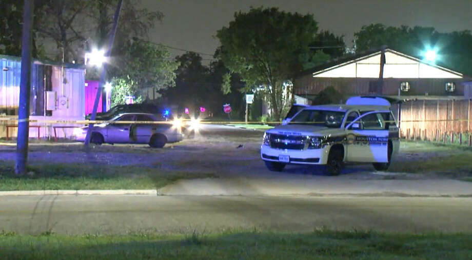 Two men were shot outside a Golfcrest bar early Sunday. Photo: Metro Video