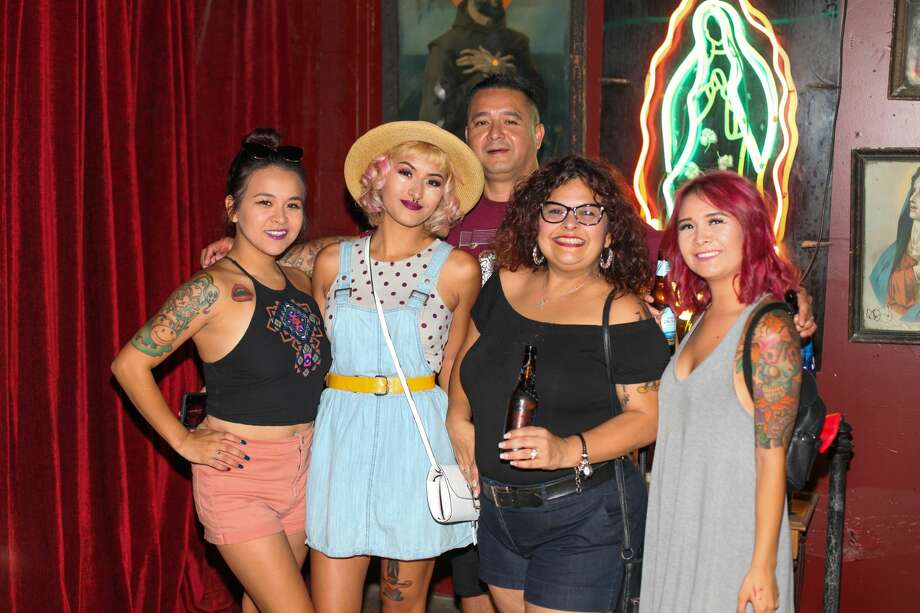 Nightlife enthusiasts said goodbye to San Antonio hangout spot The Phantom Room Saturday, Aug. 11, 2018. Photo: Fabian Leon Villa For MySA.com