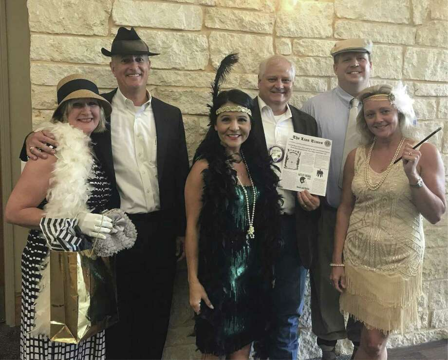 The Conroe Noon Lions will be roaring (as in the 20's) on September 13 th during their annual Legend of the Lion - Dinner/Dance & Auction; committee members are busy planning for a great time. For more information contact the club 936-760-1666. Pictured from left to right are Gail Cain, Rich Sproba, Kim Perry, Scott Perry, Warner Phelps, and Catherine Prestigiovanni.