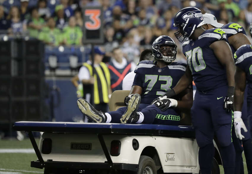 OFFENSIVE TACKLE JAMARCO JONES Jones, a 2018 fifth-round pick, missed his entire rookie season after suffering an ankle injury in the preseason opener. He's back in the competition, and could potentially push Germain Ifedi for the starting job at right tackle. An emergence from Jones could justify letting Ifedi walk in free agency next summer. The Seahawks were really impressed with Jones last training camp before he got hurt.