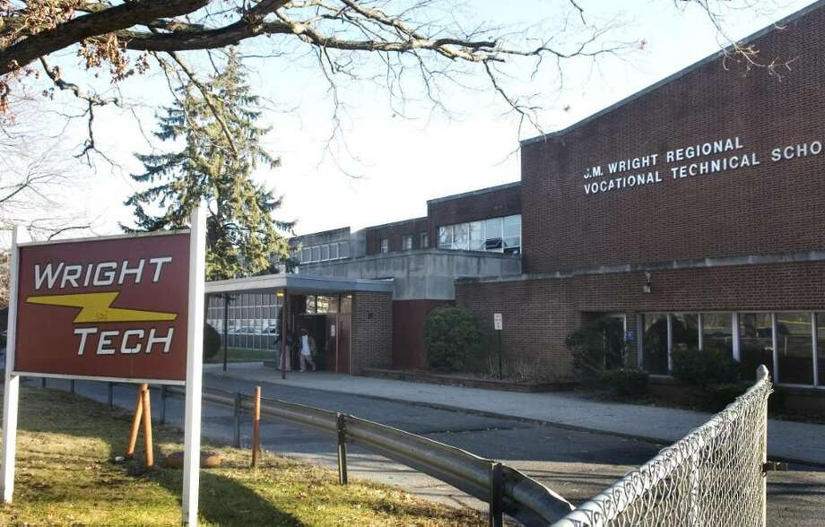 The state Board of Education has approved a $90 million plan to renovate J.M. Wright Technical High School and could have it opened in time for the 2014 school year. Photo: File Photo, ST / Stamford Advocate File Photo