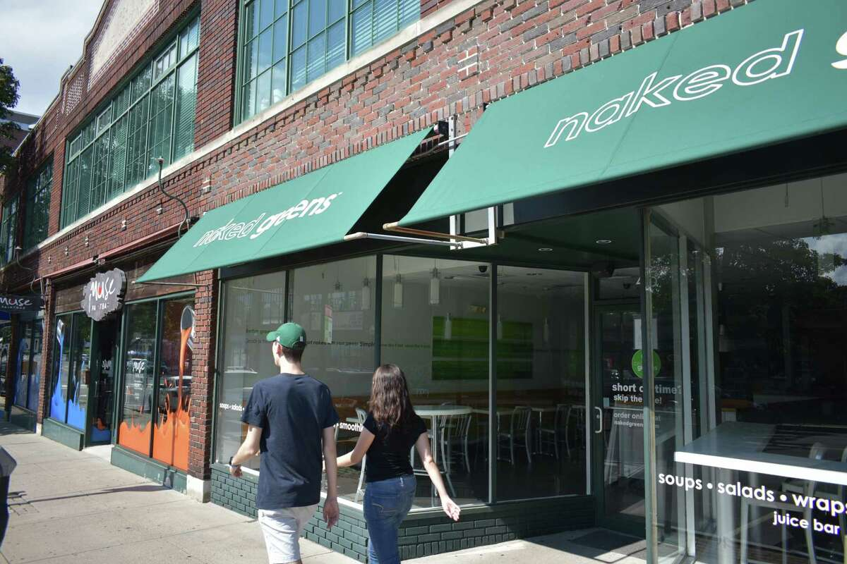 Naked Greens closed in early August 2018 its salad and wrap counter at 45 N. Main St. in South Norwalk, leaving it with a single location at 239 Danbury Road in Wilton.