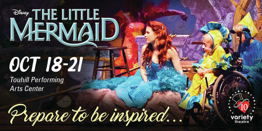 """Art for Variety Theatre's 2018 production of Disney's """"The Little Mermaid."""""""