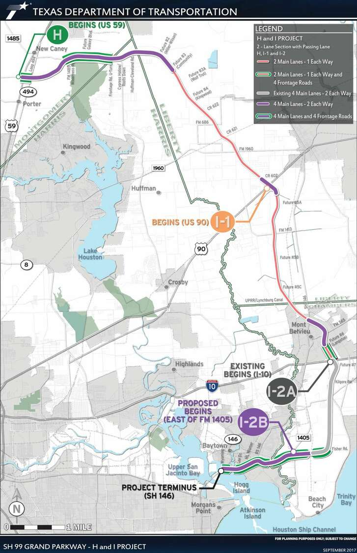 Construction will commence this summer on a $1.28 billion Grand Parkway project expected to provide system linkage, improve mobility, enhance safety, and provide infrastructure to support population growth.