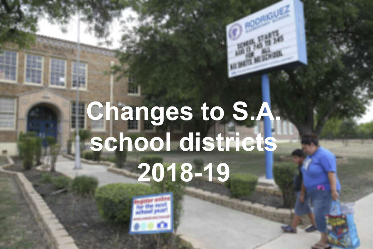 Click through the slideshow to the changes orvisit ExpressNews.com for a complete story on changes to education in Bexar County.